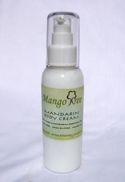 Mandarin Body Cream Spa Products 120 ml