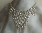 Silver Drop Necklace - Product Code NS500154