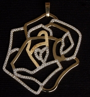 Yellow Gold Pendant with Diamonds (197 Diamonds) - Product Code PYG300211