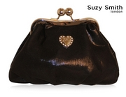 Krista Metallic Evening Bag by Suzy Smith
