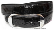 Megan Black Fashion Buckle Belt