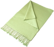 Pale Green Pashmina Shawl