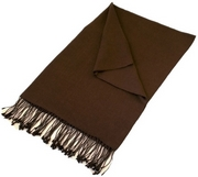 Chocolate Pashmina Shawl