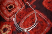 Silver Necklace with Silver Spears - Product Code NS500152