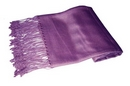 Velvet Purple Pashmina Shawl