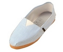 Alpargatas polo shoe (blue and white striped)