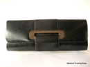 Olga Berg Designer Clutch Bag in Black