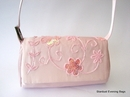 Pink Satin Wedding Handbag