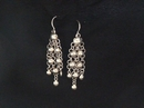 Silver Drop Earrings- Product Code ES500155