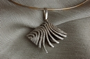 White Gold Pendant with 227 Diamonds - Product Code PWG300200