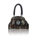 LYDC London Animal Print Designer Handbag