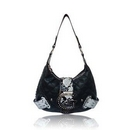 LYDC London Black Designer Fashion Handbag