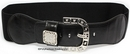 Cher Black Diamante Buckle Belt