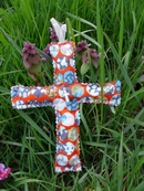 Shabby Chic Easter Cross