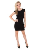 DesignSix London Rockfort Dress in Black