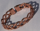 Magnetic Pure Copper Heavy Lace Bracelet