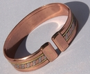 Magnetic Pure Copper Mexican Twist Bracelet