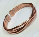 Magnetic Pure Copper Crossover Bracelet
