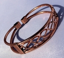 Magnetic Pure Copper Centre Lace Bracelet