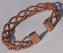 Non Magnetic Pure Copper Lace Bracelet