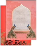 A new pink indian wedding cards and invitations